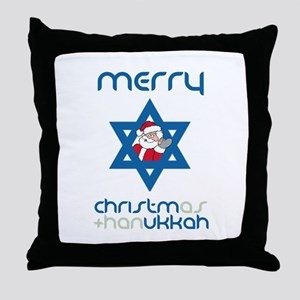 Christ()mukkah Throw Pillow