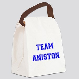 Aniston Blue Canvas Lunch Bag
