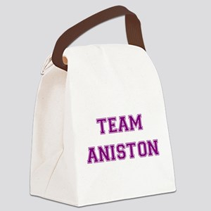 Aniston Purple Canvas Lunch Bag