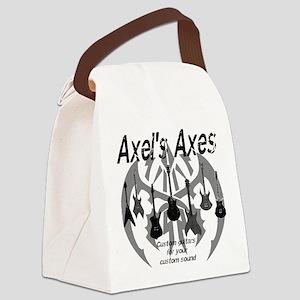 Axels Axes fade Canvas Lunch Bag