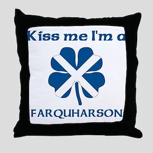 Farquharson Family Throw Pillow