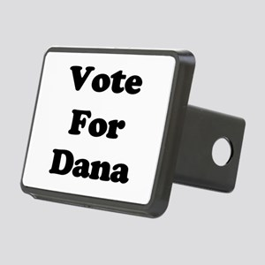 Vote Dana blk Rectangular Hitch Cover