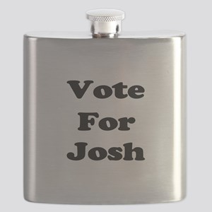Vote Josh blk Flask