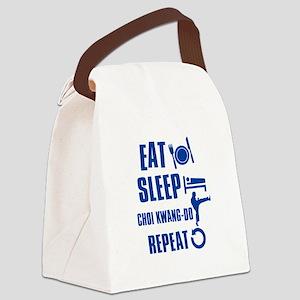 Eat sleep Choi Kwang Do Canvas Lunch Bag