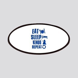 Eat sleep Kendo Patches
