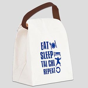 Eat sleep Tai Chi Canvas Lunch Bag