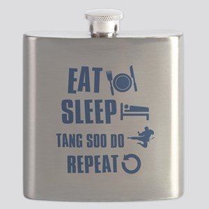 Eat sleep Tang Soo Do Flask