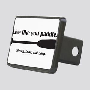 Dragon Boat – Live like you paddle. Hitch Cover