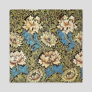 Chrysanthemums by William Morris Queen Duvet