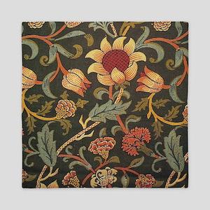William Morris Evenlode design Queen Duvet