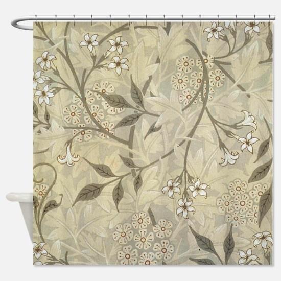 Jasmine Design Shower Curtain