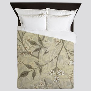 Jasmine Design Queen Duvet