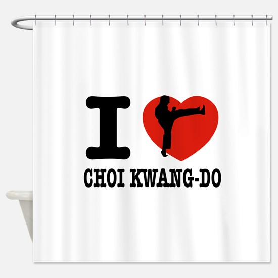 I love Choi Kwang Do Shower Curtain