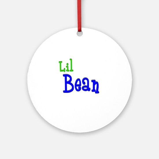 Lil Bean Ornament (Round)