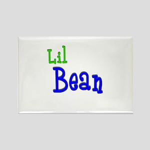 Lil Bean Rectangle Magnet