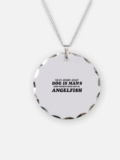 Angelfish pet designs Necklace