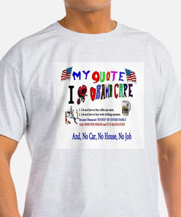 Obamacare Anti American T-Shirt