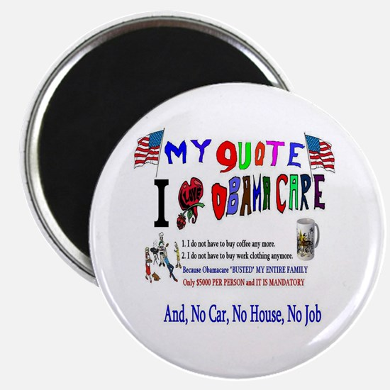 Obamacare Anti American Magnet