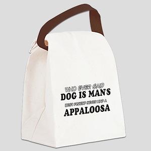 Appaloosa pet designs Canvas Lunch Bag