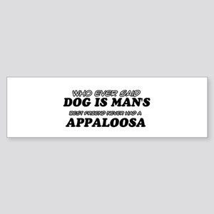 Appaloosa pet designs Sticker (Bumper)