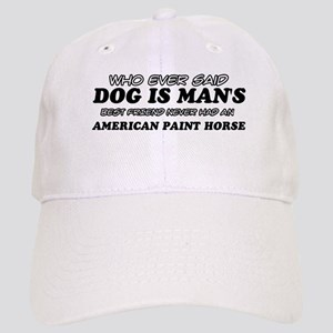 Ameirican paint Horse pet designs Cap
