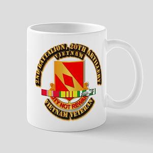 Army - 2-20th FA w VN SVC Mug