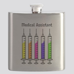 Medical Assistant 7 syringes Flask