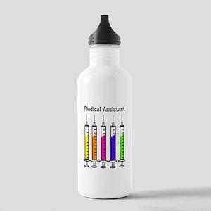 Medical Assistant 7 syringes Water Bottle