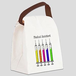 Medical Assistant 7 syringes Canvas Lunch Bag