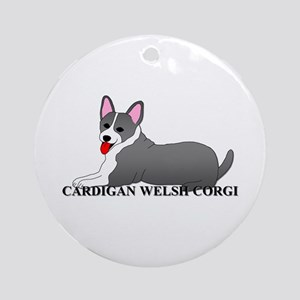 Cardigan Welsh Corgi Ornament (Round)