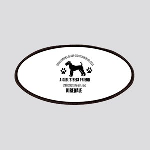 Airedale Mommy designs Patches