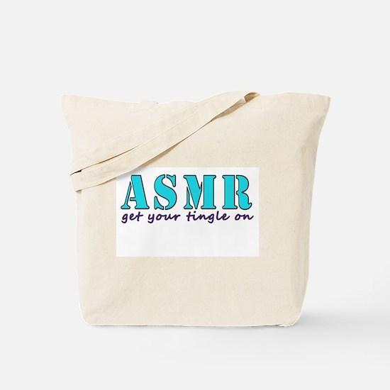 ASMR get your tingle on Tote Bag