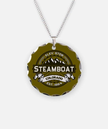 Steamboat Olive Necklace