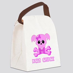NCIS Chick Canvas Lunch Bag