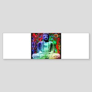 Life Tripping With Buddha Bumper Sticker
