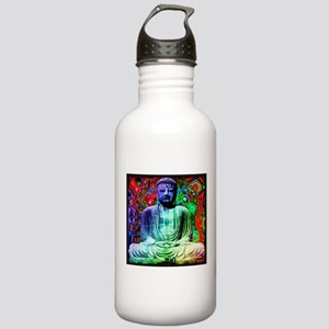 Life Tripping With Buddha Water Bottle