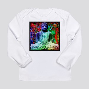 Life Tripping With Buddha Long Sleeve T-Shirt