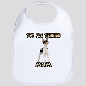 Toy Fox Terrier Mom Bib