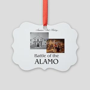 ABH Alamo Picture Ornament