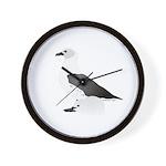 Skua and Chick 2 Wall Clock