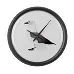 Skua and Chick 2 Large Wall Clock