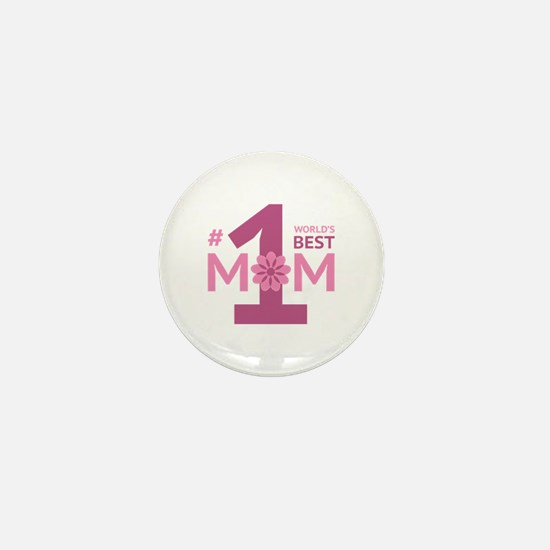 Nr 1 Mom Mini Button
