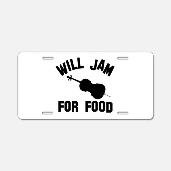 Will jam or play the Double Bass for food Aluminum