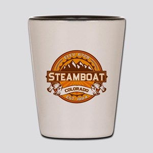 Steamboat Tangerine Shot Glass