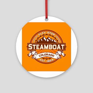 Steamboat Tangerine Ornament (Round)
