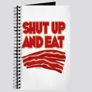 Shut Up And Eat Bacon Journal