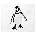 Humboldt Penguin smiling King Duvet