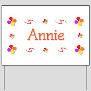 Annie 1 Yard Sign
