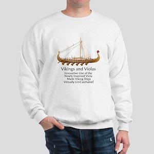Vikings and Violas Sweatshirt