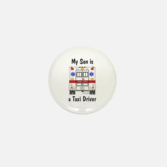 Taxi Driver Son Mini Button